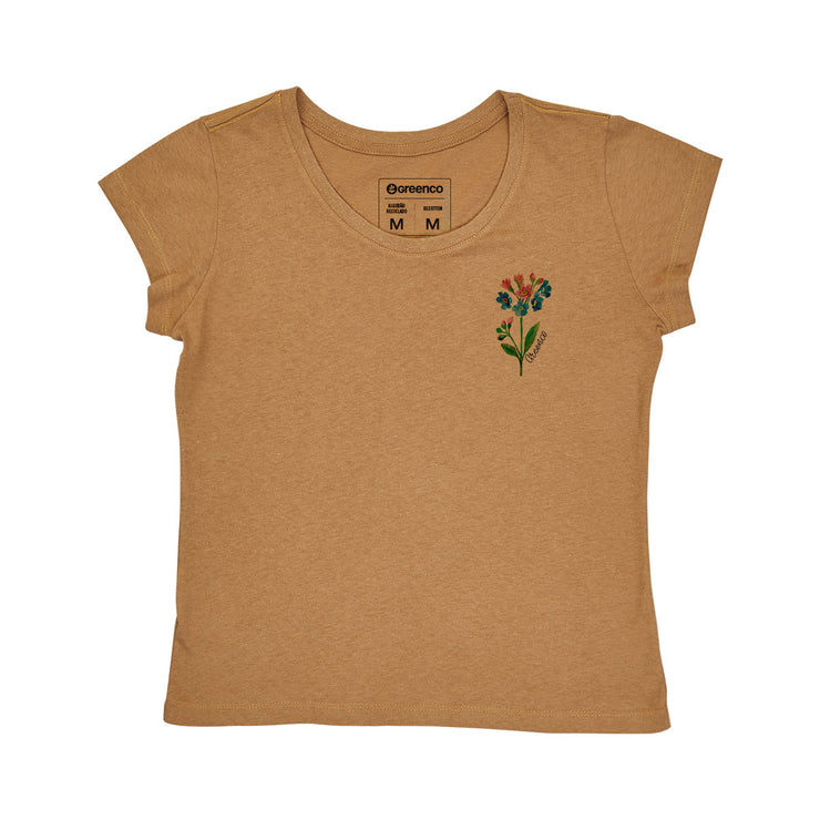 Recotton Women's T-shirt - Watercolor Flower