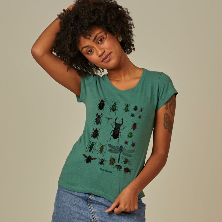 Recotton Women's T-shirt - Insects