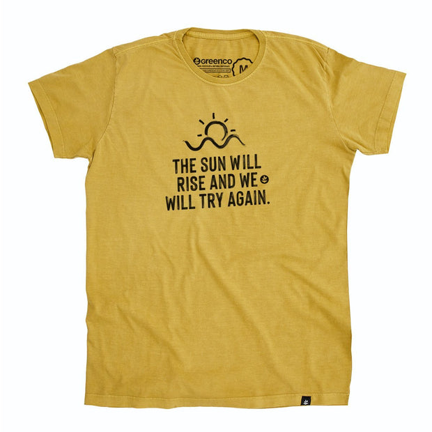 Organic Cotton Men's T-Shirt - Try again