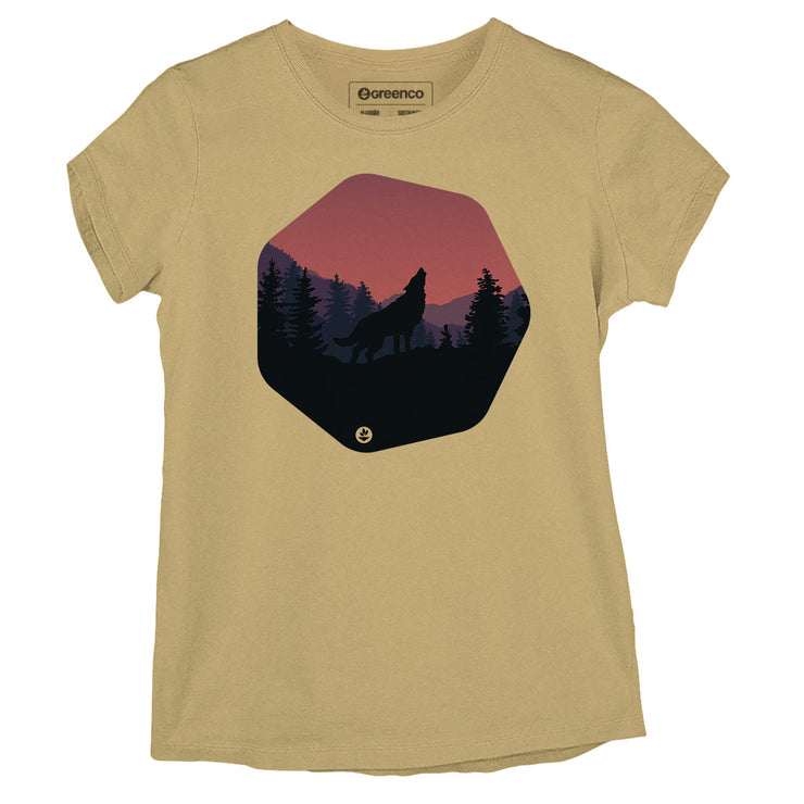Sustainable Cotton Women's T-Shirt - Wolf