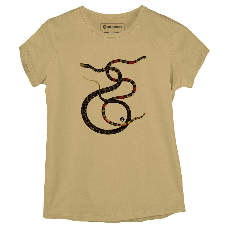 Sustainable Cotton Women's T-Shirt - Snakes