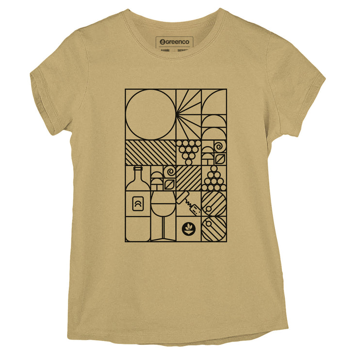 Sustainable Cotton Women's T-Shirt - Geo Winery