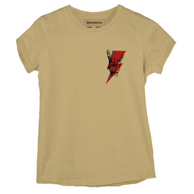 Sustainable Cotton Women's T-Shirt - Rock Bolt