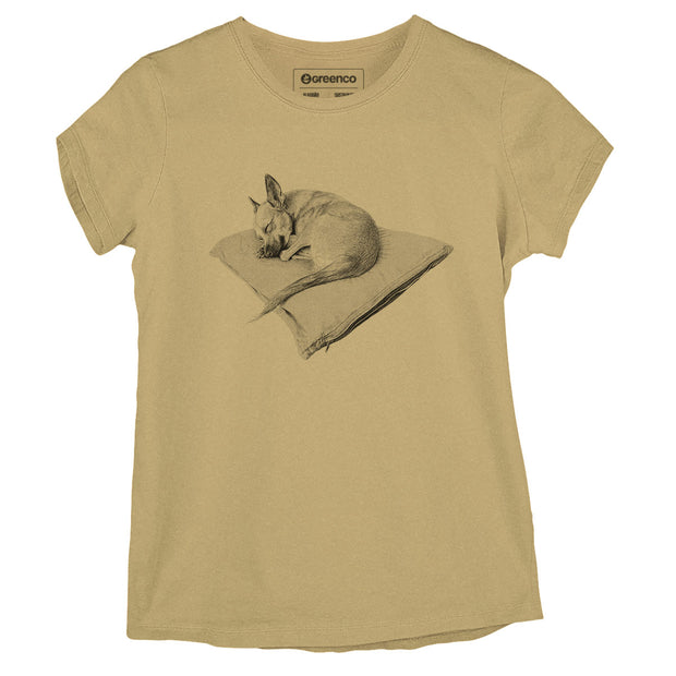 Sustainable Cotton Women's T-Shirt -  Luna dreams - RK