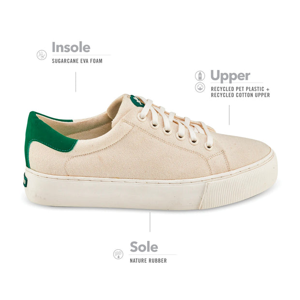 Women's Greenco Atlantic Ocean Sneakers - Off white