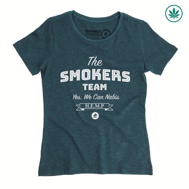 Hemp Women's T-Shirt - The Smokers Team