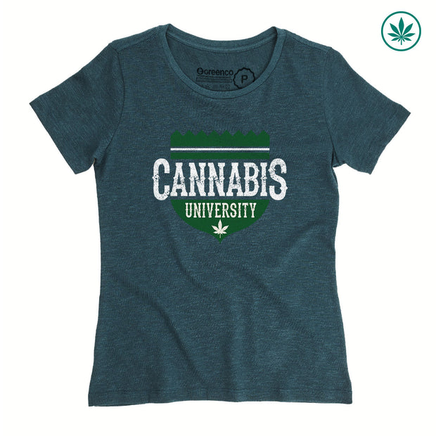 Hemp Women's T-Shirt - Cannabis University