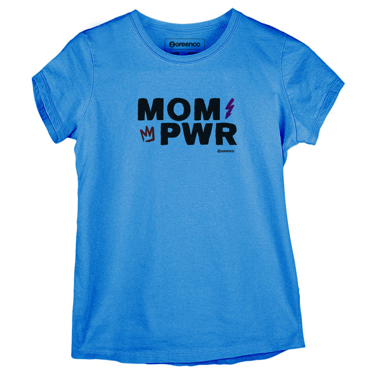 Sustainable Cotton Women's T-Shirt - Mom Power