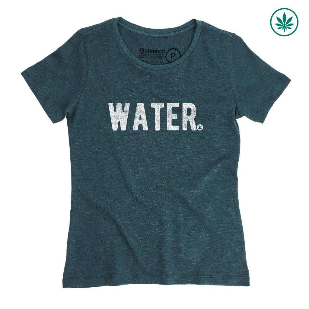 Hemp Women's T-Shirt - Water