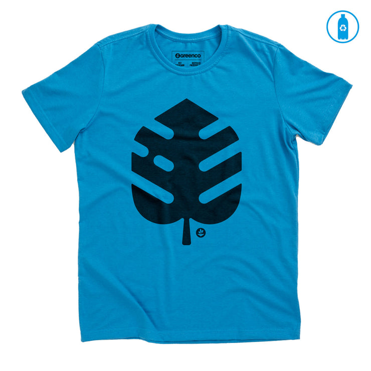 Recycled Polyester (PET) Men's T-Shirt - Rib Shape