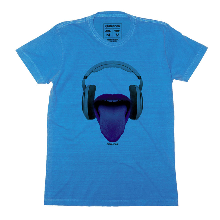 Sustainable Cotton Men's T-Shirt - Phone Mouth