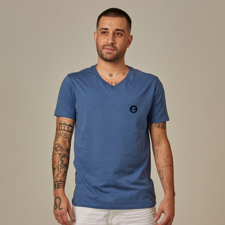 Comfort Cotton Men's V-neck T-shirt - Basic