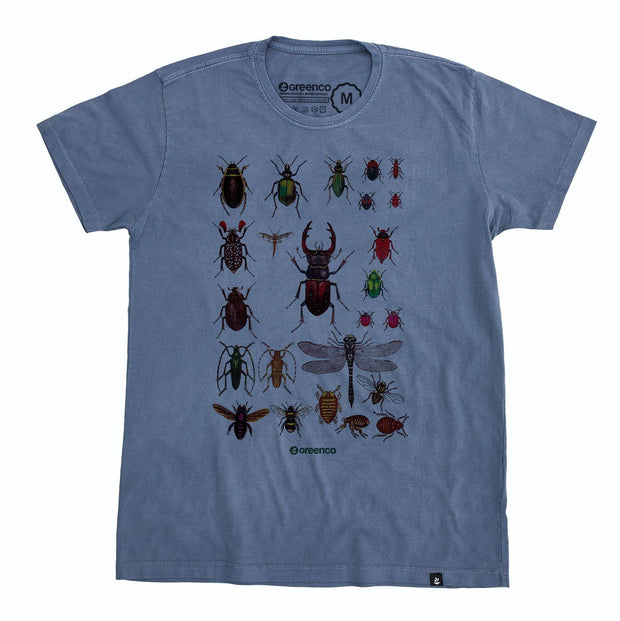 Organic Cotton Men's T-Shirt - Insects