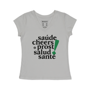 Comfort Cotton Women's V-neck T-shirt - Cheers