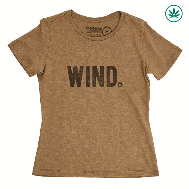 Hemp Women's T-Shirt - Wind