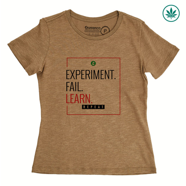 Hemp Women's T-Shirt - Learn