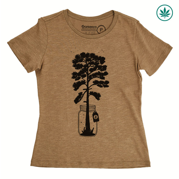 Hemp Women's T-Shirt - Grow
