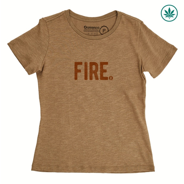 Hemp Women's T-Shirt - Fire