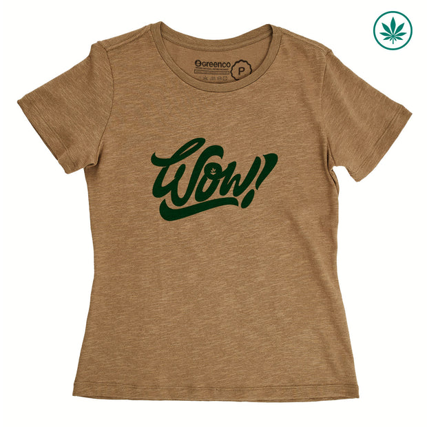 Hemp Women's T-Shirt - Wow