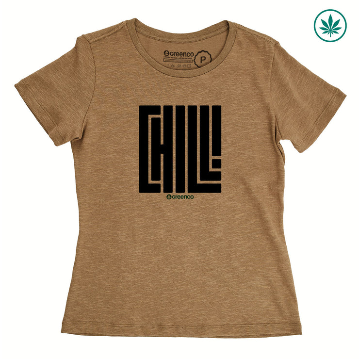 Hemp Women's T-Shirt - Chill