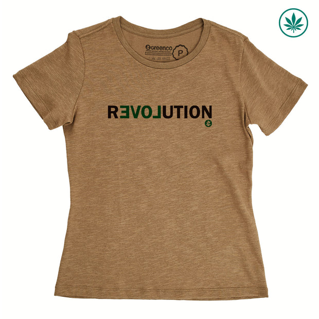 Hemp Women's T-Shirt - Revolution