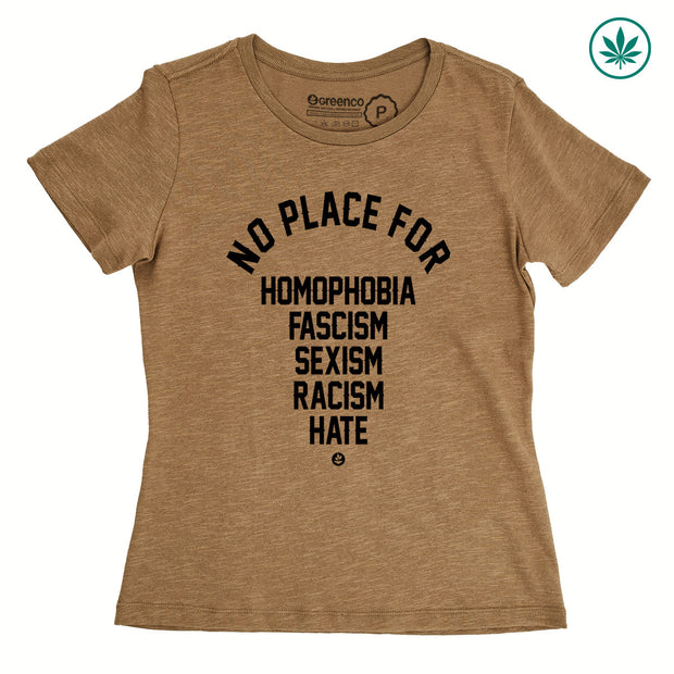 Hemp Women's T-Shirt - No Place