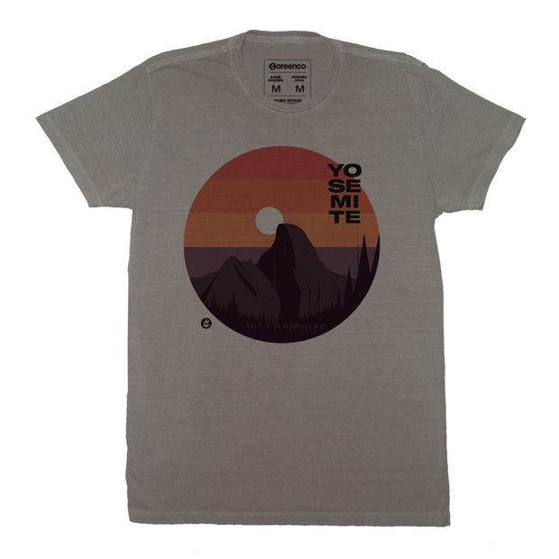 Sustainable Cotton Men's T-Shirt - Yosemite