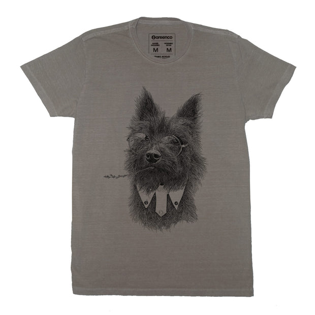 Sustainable Cotton Men's T-Shirt - Toto Terrier - RK