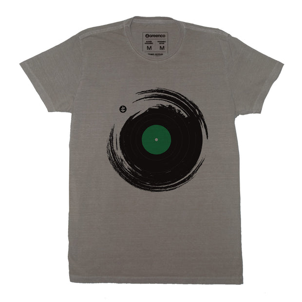 Sustainable Cotton Men's T-Shirt - Vinil Brush