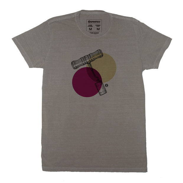 Sustainable Cotton Men's T-Shirt - Corkscrew