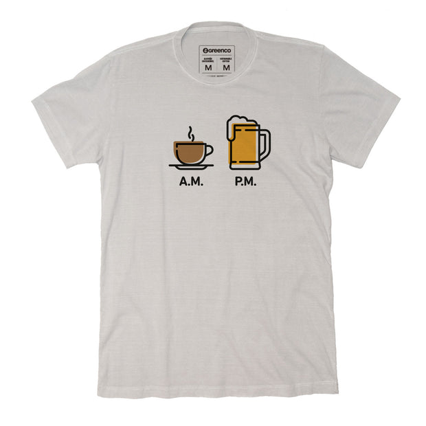 Sustainable Cotton Men's T-Shirt - AM PM - Beer