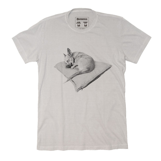 Sustainable Cotton Men's T-Shirt - Luna dreams - RK