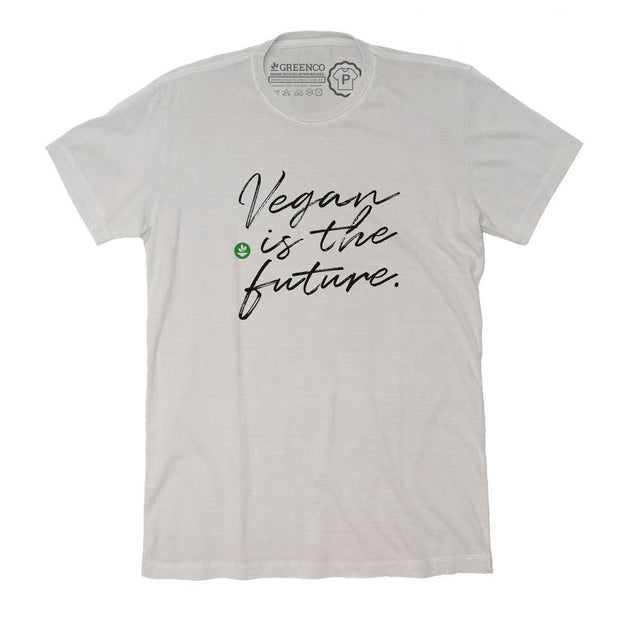Sustainable Cotton Men's T-Shirt - Vegan is the future