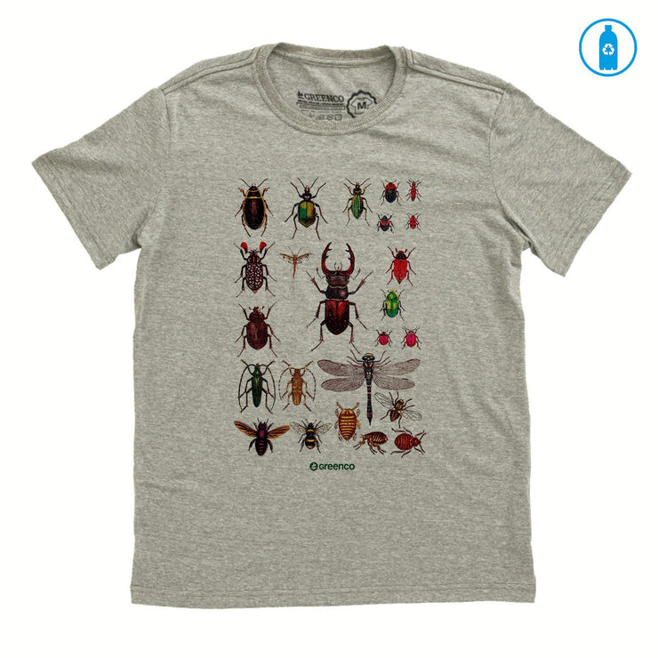 Recycled Polyester (PET) Men's T-Shirt - Insects