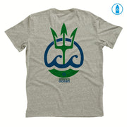 Recycled Polyester (PET) Men's T-Shirt - Trident Ocean