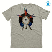 Recycled Polyester (PET) Men's T-Shirt - Headdress