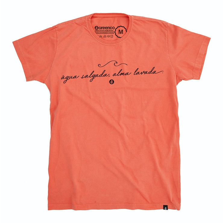 Organic Cotton Men's T-Shirt - Alma lavada