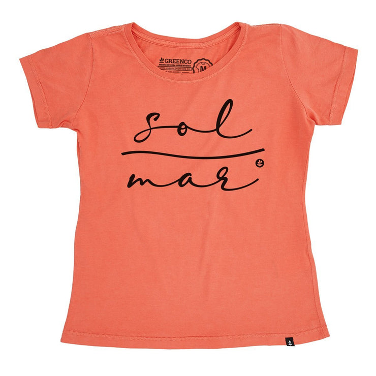 Organic Cotton Women's T-Shirt - Sol e Mar