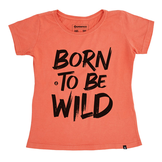 Organic Cotton Women's T-Shirt - Born to be wild