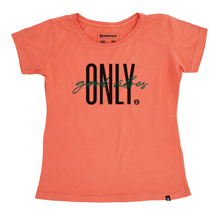 Organic Cotton Women's T-Shirt - Good Vibes Only
