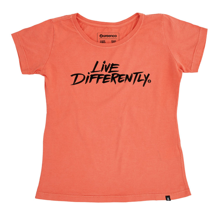 Organic Cotton Women's T-Shirt - Live Differently
