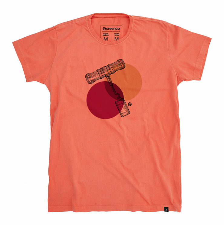 Organic Cotton Men's T-Shirt - Corkscrew