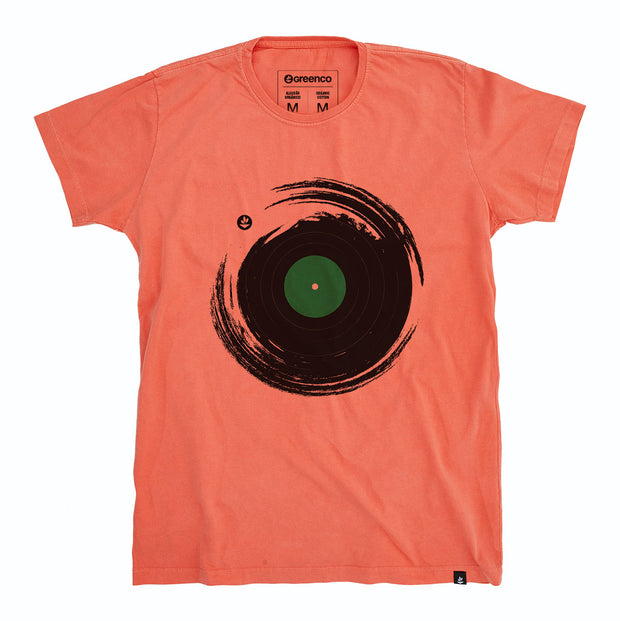Organic Cotton Men's T-Shirt - Vinil Brush