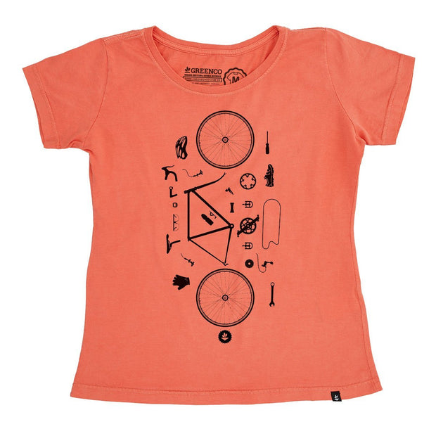 Organic Cotton Women's T-Shirt - Desconstrubike