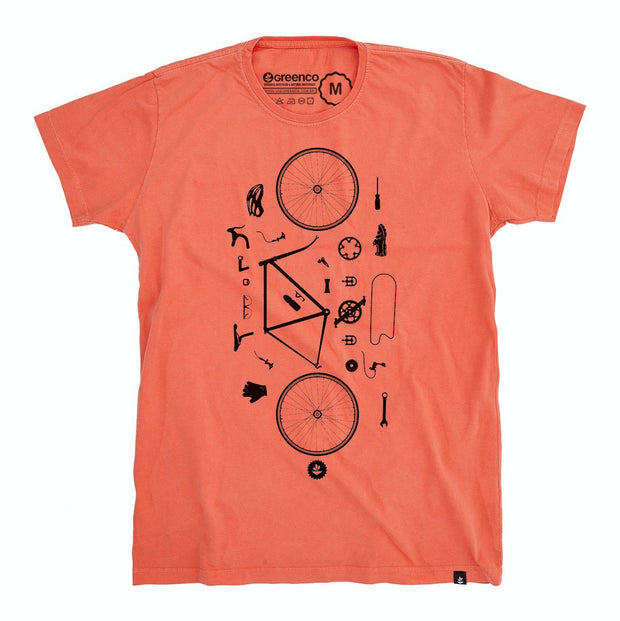 Organic Cotton Men's T-Shirt - Desconstrubike