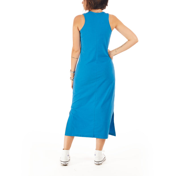 Recycled Polyester (PET) Midi Dress - Feminist