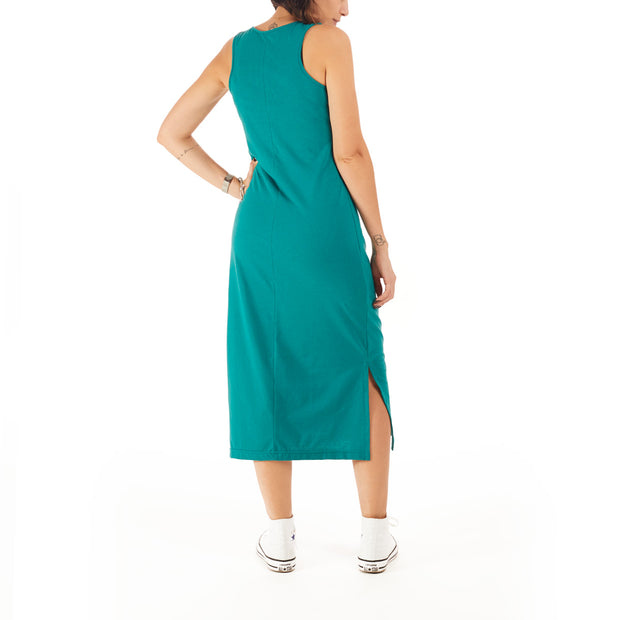 Recycled Polyester (PET) Midi Dress - Let it be