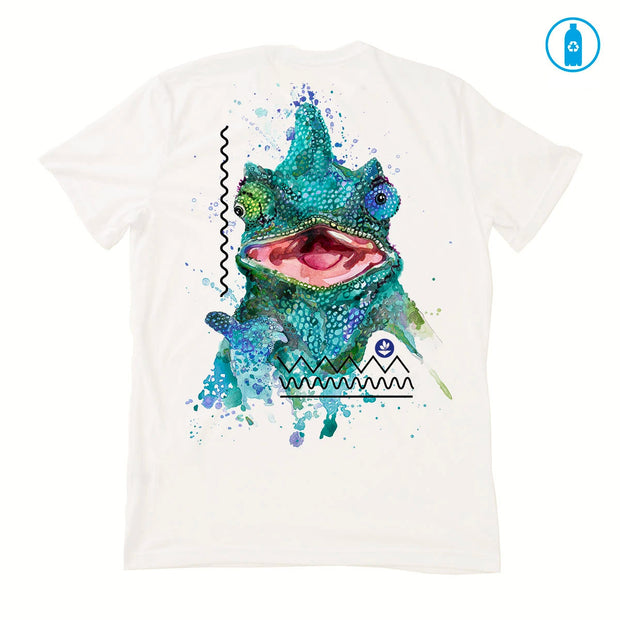 Recycled Polyester (PET) Men's T-Shirt - Chameleon