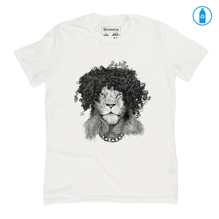 Recycled Polyester (PET) Men's T-Shirt - The Bling King - RK