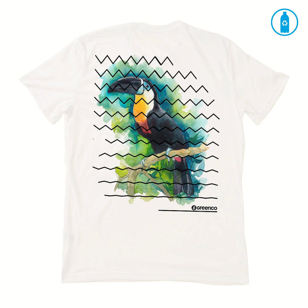 Recycled Polyester (PET) Men's T-Shirt - Toucan